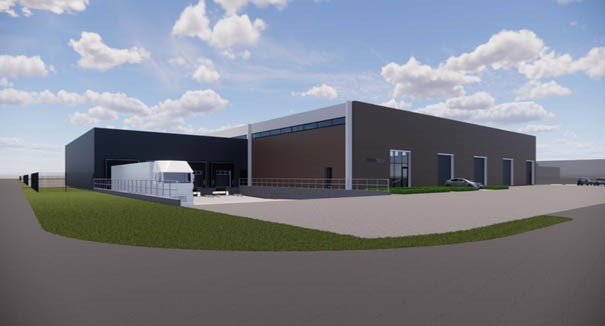 New Logistic Centre of Spirotech in Helmond (NL)