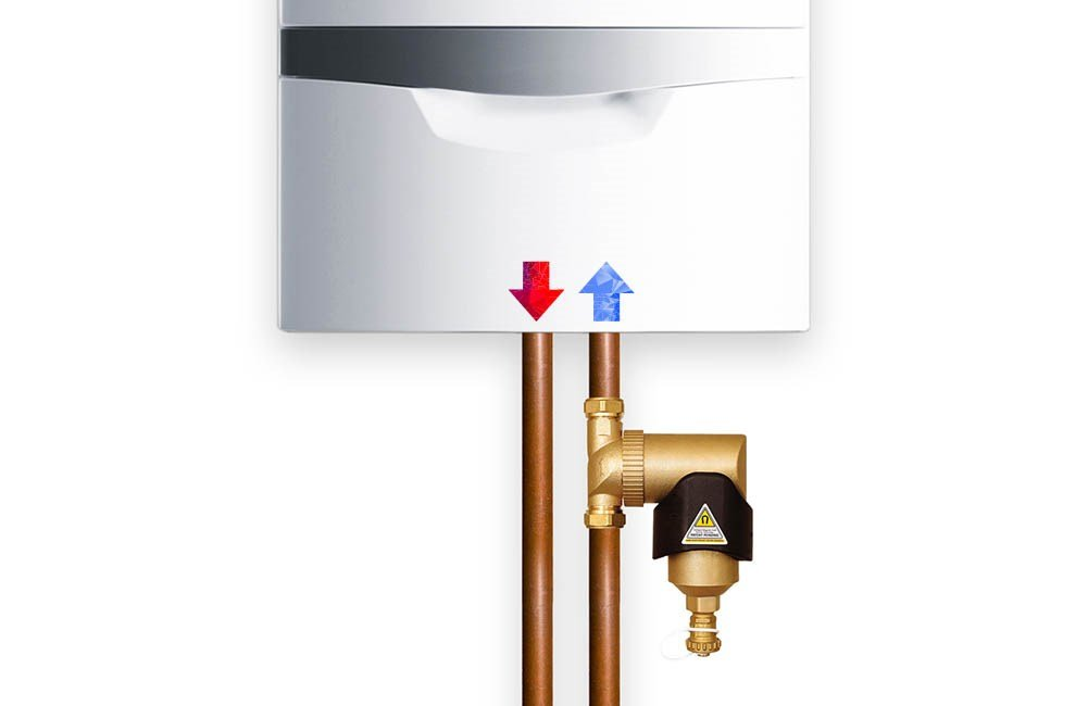 Positioning of Spirotech SpiroTrap